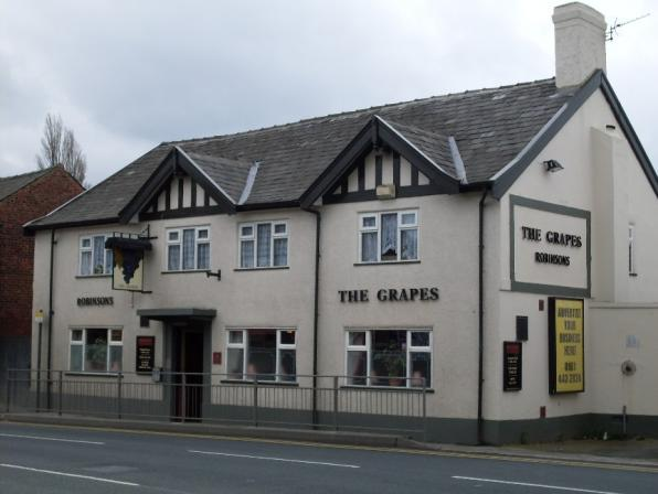 Grapes, London Road, Hazel Grove